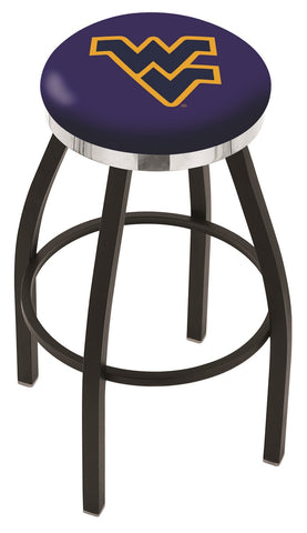 West Virginia Mountaineers Contempo III Bar Stool 30""