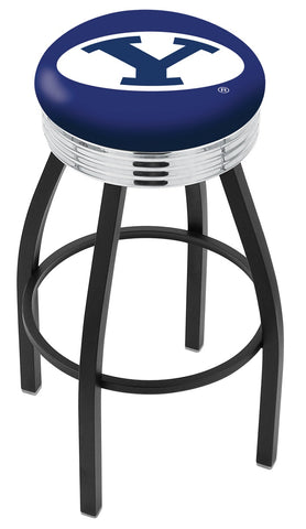 Brigham Young Cougars Contempo IV Bar Stool 25""