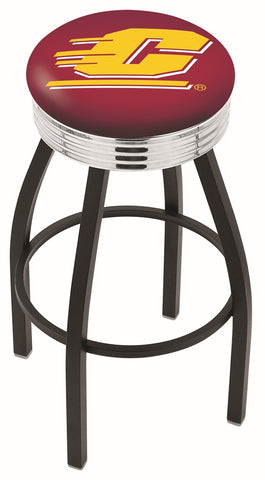 Central Michigan Chippewas Contempo IV Bar Stool 25""