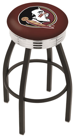 FSU Seminoles Head Contempo IV Bar Stool 25""