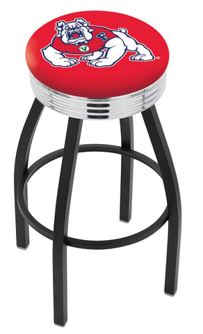 Fresno State Bulldogs Contempo IV Bar Stool 30""