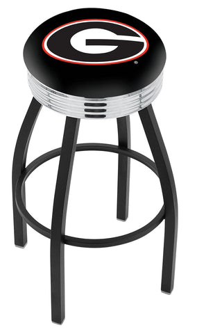 Georgia Bulldogs G Contempo IV Bar Stool 25""