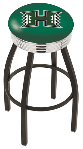 Hawaii Rainbow Warriors Contempo IV Bar Stool 25""