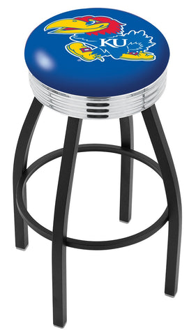 Kansas Jayhawks Contempo IV Bar Stool 25""