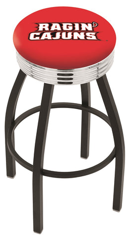 Louisiana Lafayette Ragin Cajuns Contempo IV Bar Stool 25""
