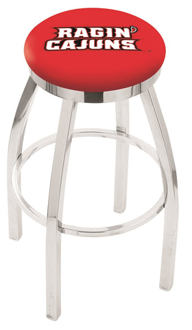 Louisiana Lafayette Ragin Cajuns Modern II Bar Stool 25""