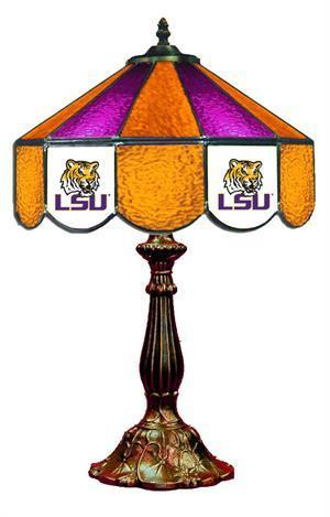 LSU Table Lamp 21 in High