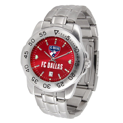 FC Dallas Sport Steel MLS Watch