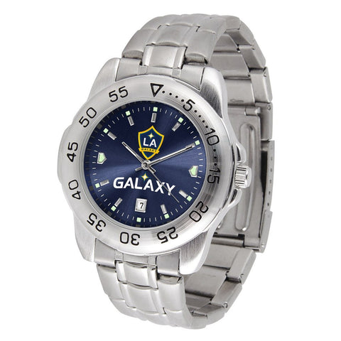 LA Galaxy Sport Steel MLS Watch