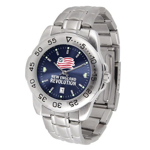 New England Revolution Sport Steel MLS Watch