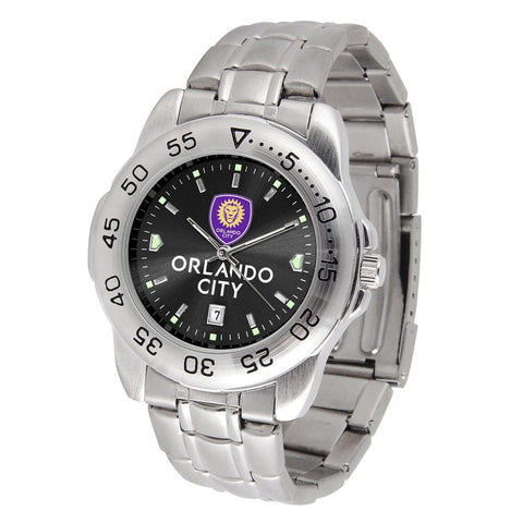 Orlando City SC Sport Steel MLS Watch