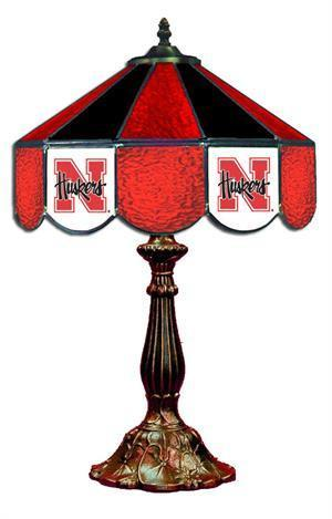 Nebraska Cornhuskers Table Lamp 21 in High
