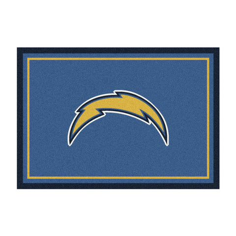 Los Angeles Chargers 4X6 Spirit Rug
