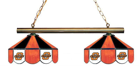 Oklahoma State Cowboys 2 Shade Hanging Logo Light