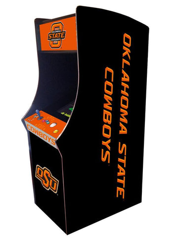Oklahoma State Cowboys Arcade Game Machine