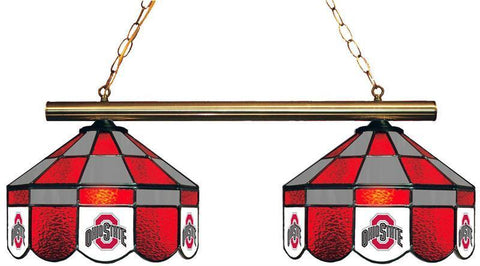 Ohio State Buckeyes 2 Shade Hanging Team Light O