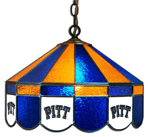 "Pitt Panthers 16"" Logo Swag Hanging Lamp"