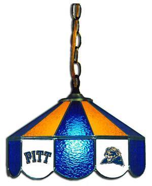 "Pitt Panthers 14"" Swag Hanging Lamp"