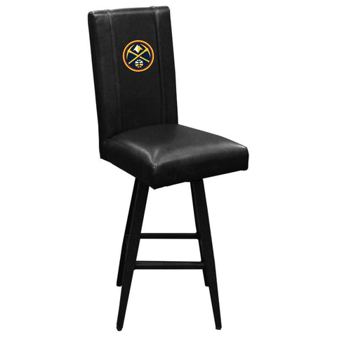 Denver Nuggets NBA Bar Stool Swivel 2000 with Primary Logo