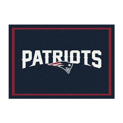New England Patriots 8X11 Spirit Rug
