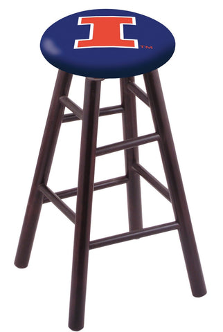 "Illinois Fighting Illini 24"" Counter Stool"