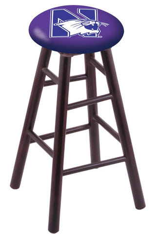 "Northwestern Wildcats 24"" Counter Stool"
