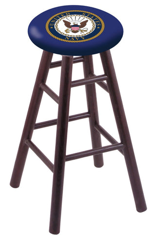 "Navy Midshipmen 24"" Counter Stool"