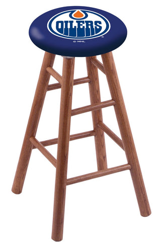 "Edmonton Oilers 24"" Counter Stool"