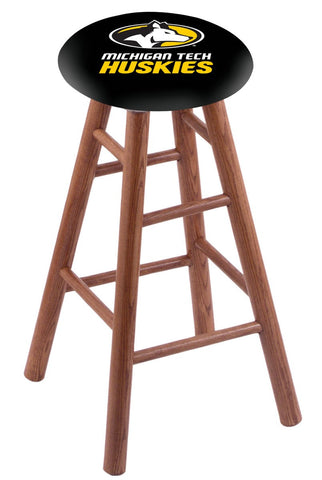 "Michigan Tech Huskies 30"" Bar Stool"