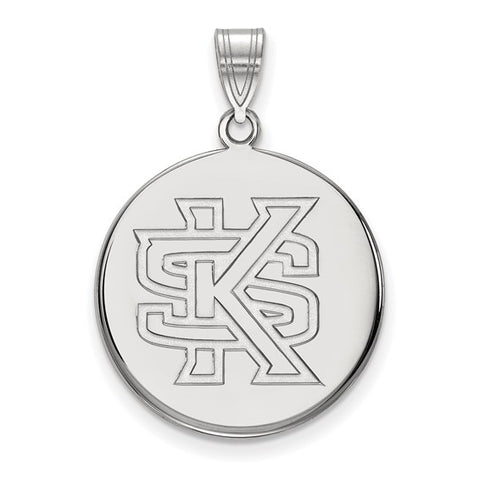 Kennesaw State Owls Large Disc Pendant