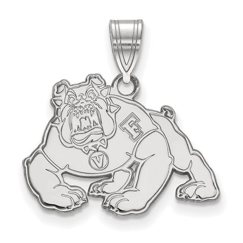 Cal State Fresno Bulldogs Medium Pendant