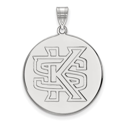 Kennesaw State Owls XL Disc Pendant