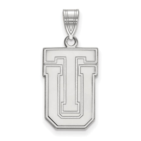 Tulsa Golden Hurricanes Large Pendant 10k White Gold