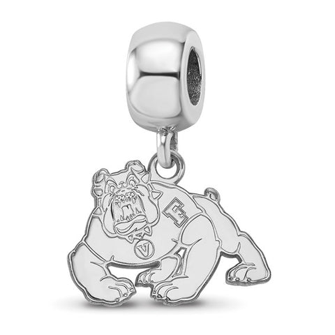 Cal State Fresno Bulldogs Bead Charm Small Dangle