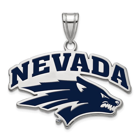 Nevada Wolf Pack Large Enamel Pendant