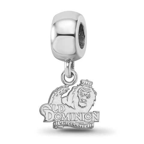 Old Dominion Monarchs Bead Charm XS Dangle Sterling Silver