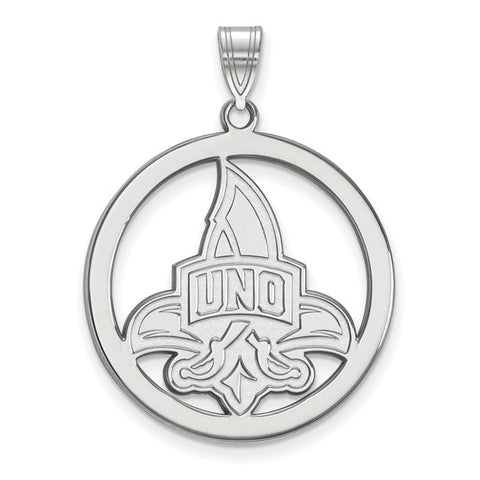 New Orleans Privateers Large Pendant in Circle