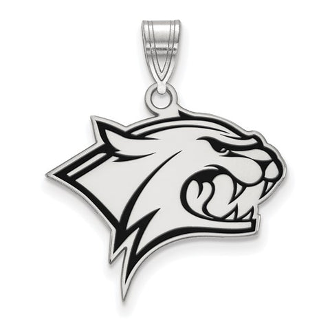 New Hampshire Wildcats Large Enamel Pendant