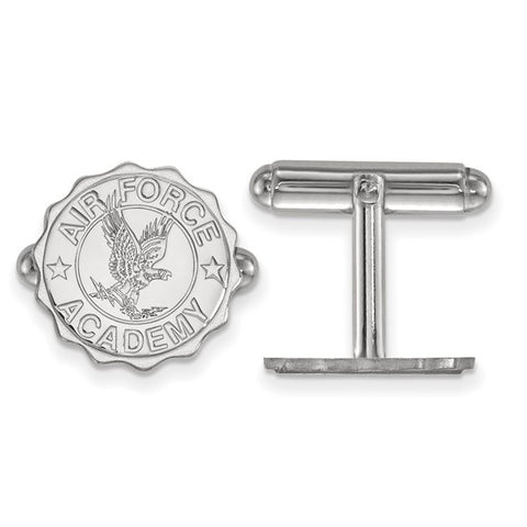 Air Force Falcons Crest Cufflinks Sterling Silver