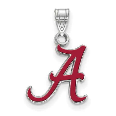 Alabama Crimson Tide Small Enamel Pendant