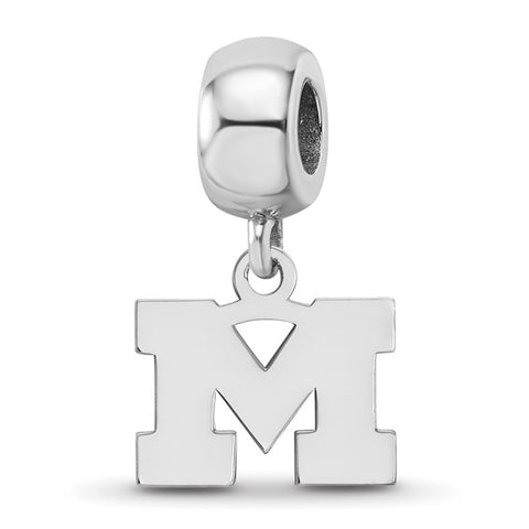 Michigan Wolverines Bead Charm XS Dangle