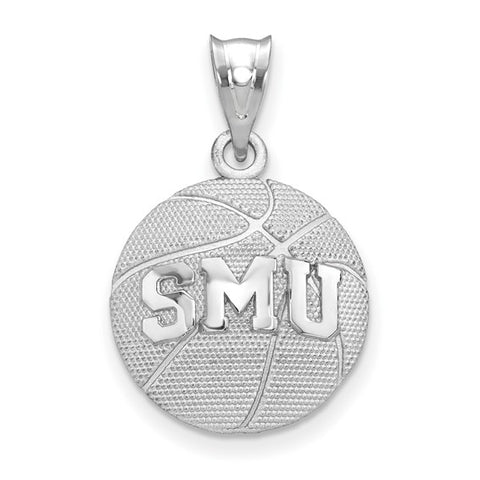 SMU Mustangs Basketball Pendant