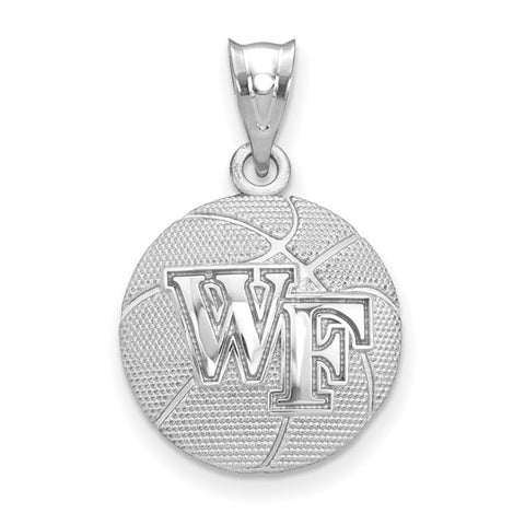 Wake Forest Demon Deacons Basketball Pendant