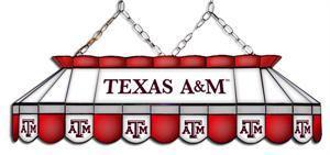 Texas A&M Aggies Tiffany Pool Table Light