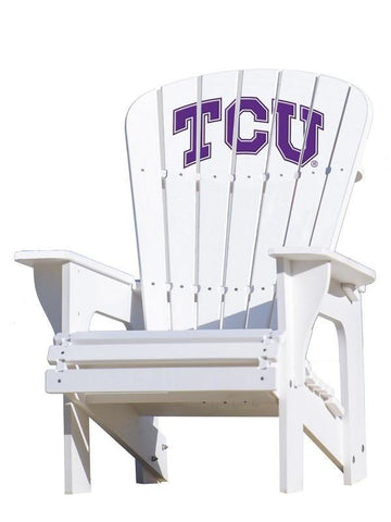TCU Horned Frogs Adirondack Chair