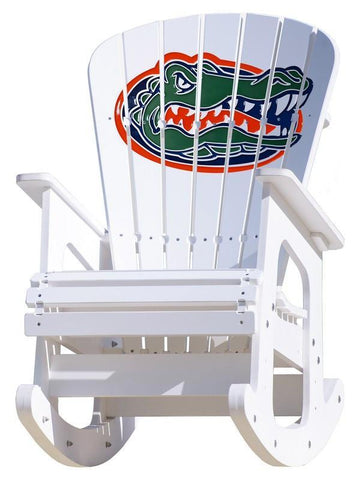 Florida Gators Adirondack Rocking Chair
