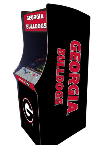 Georgia Bulldogs Arcade Game Machine