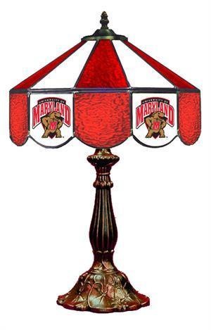 Maryland Terrapins Table Lamp 21 in High