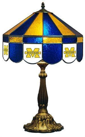 Michigan Wolverines Table Lamp