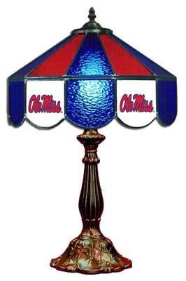 "Ole Miss Rebels 21"" Table Lamp"